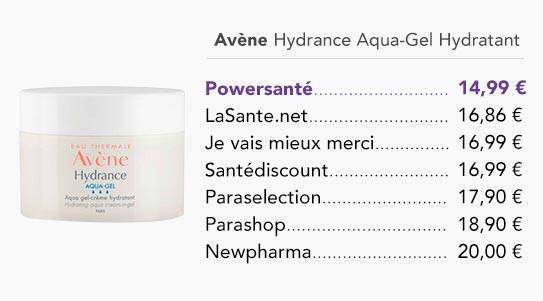 comparer-les-prix-de-avene-hydrance-aqua-gel-creme-hydratant-50ml-encart-home