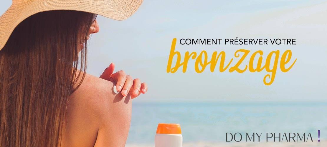 Comment préserver votre bronzage ?