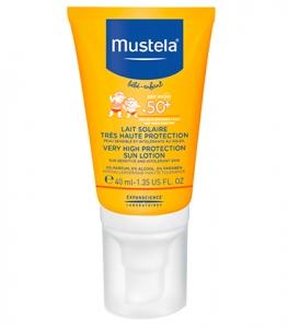 Mustela Solaire Lait Très Haute Protection 40ml