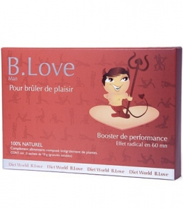 Dietworld B. Love Stimulant Sexuel 3x5g