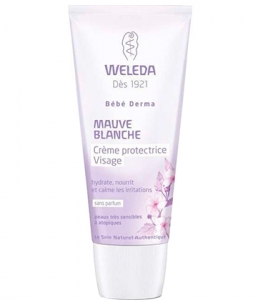 Weleda Mauve Blanche Crème Protectrice Visage 50ml
