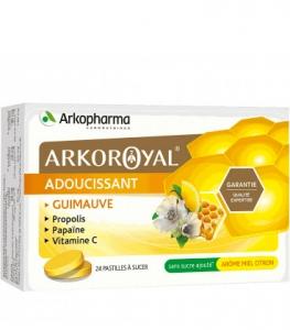 Arkopharma Arkoroyal Pastilles Goût Miel Citron x24