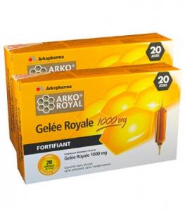 Arkoroyal Gelée Royale 1000mg 2x20 | Comparateur