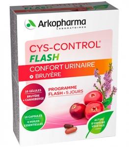 Arkopharma Cys-Control Flash x20 gélules