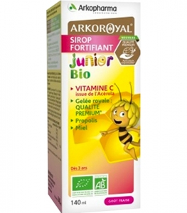 Arkoroyal Sirop Fortifiant Junior Bio 140ml