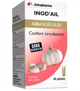Arkopharma Inod'Ail Confort Circulatoire Gélules x45