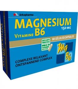 Arkopharma Magnésium Vitamine x60 | Comparateur