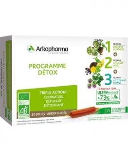 Arkofluides Programme Détox 3 en 1 Bio x30