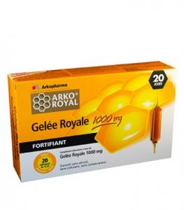 Arkoroyal Gelée Royale 1000mg Ampoules x20