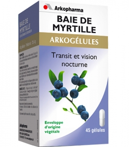 Arkopharma Arkogélules Baie de Myrtille x45