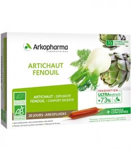 Arkopharma Arkofluides Artichaut Fenouil Bio 20x10ml