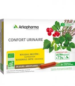 Arkofluides Confort Urinaire Bio x20 ampoules