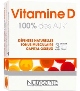 Nutrisanté Vitamine D 100% des AJR Comprimés x90