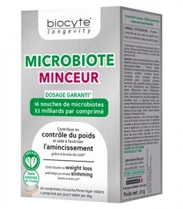 Biocyte Longevity Microbiote Minceur Comprimés x20