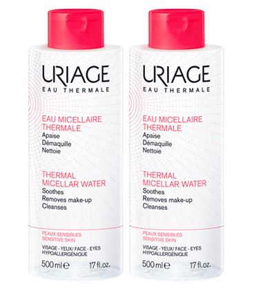 Uriage Eau micellaire thermale rougeurs 2x500ml