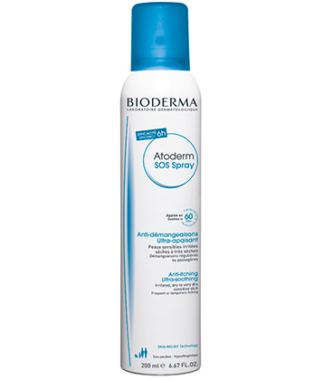 Bioderma Atoderm SOS Spray Anti-Démangeaisons 200ml