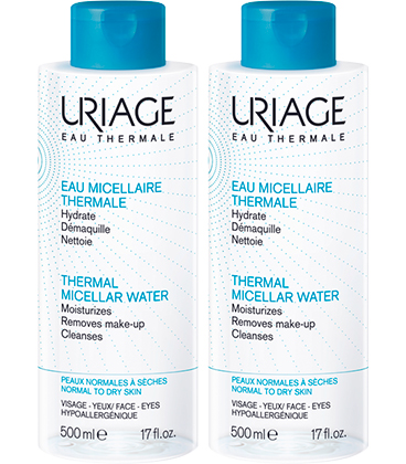 Uriage Eau micellaire thermale 2x500ml
