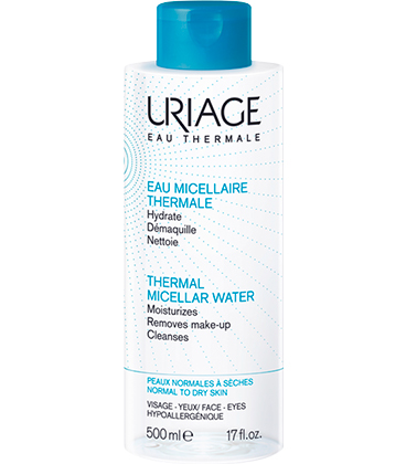 Uriage Eau Micellaire Thermale peaux sèches 500ml