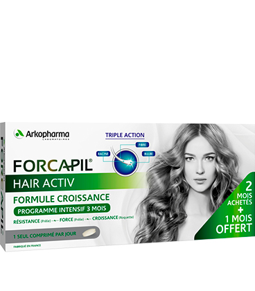 Arkopharma Forcapil Hair Activ x90 | Comparateur