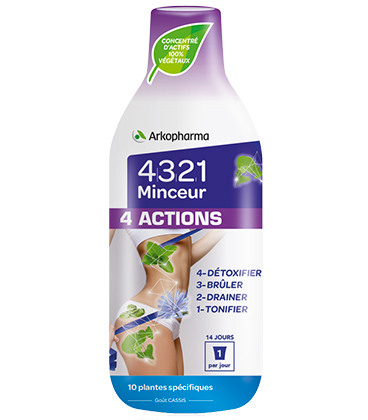 Arkopharma 4321 Minceur 4 Actions 280ml