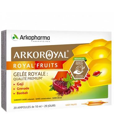 Arkopharma Arkoroyal Royal'Fruits 20x10ml