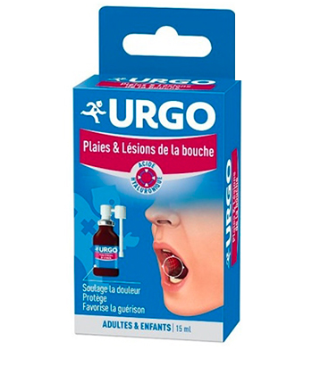 Urgo Spray Buccal Plaies Lésions de la Bouche 15ml