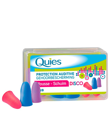 Quies Protection Auditive Disco x3 Paires